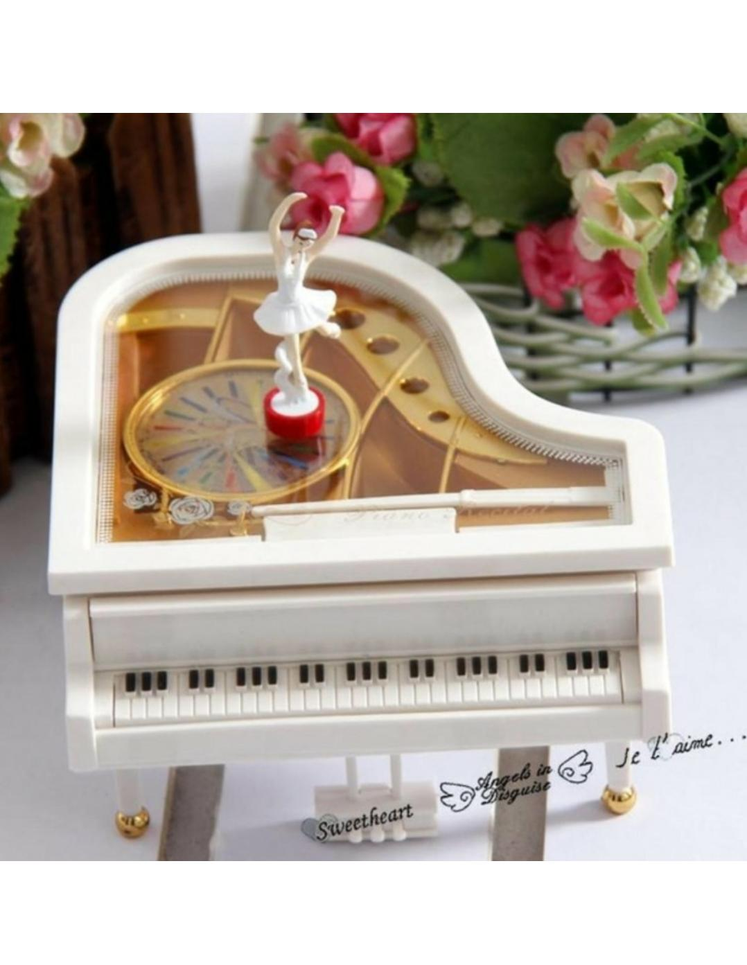 Kotak Musik (music Box) Piano+ballerina By Kim12.
