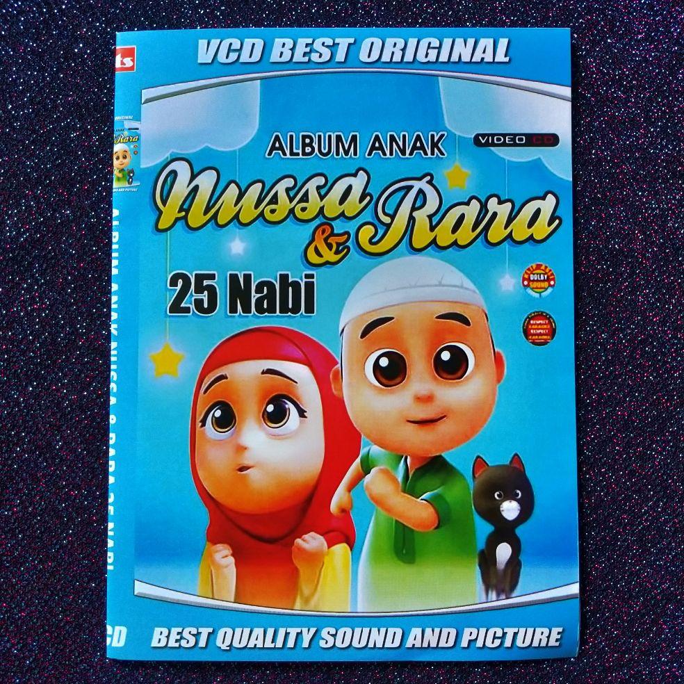 Kaset Dvd Vcd Lagu Album Anak Nussa&Rara 20 Nabi