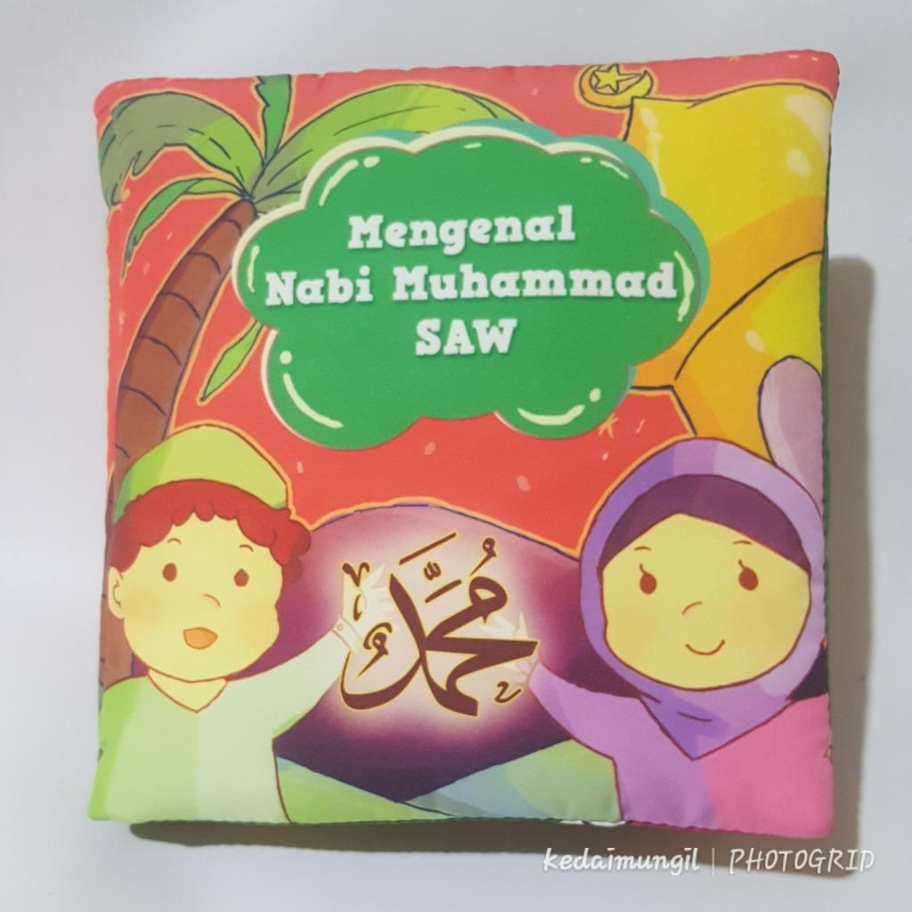 BunTal Buku Bantal Edukasi: Mengenal Nabi Muhammad SAW (Buku Kain Anak Muslim)