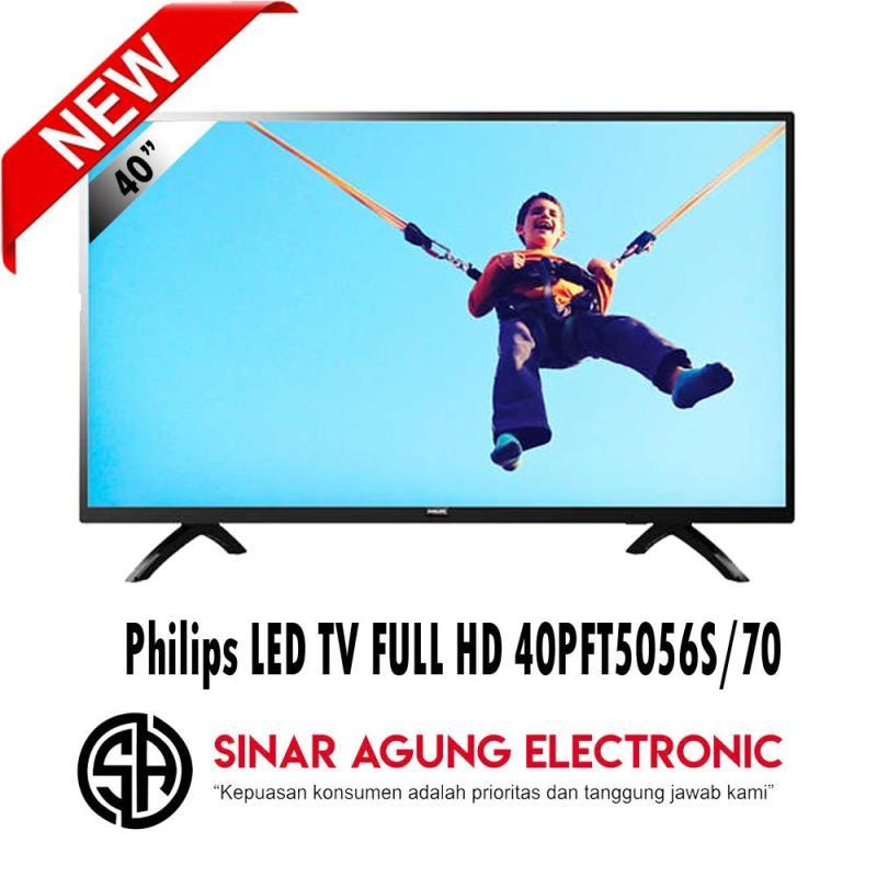 Philips LED TV FULL HD 40PFT5056S/70 Free PACKING KAYU 100% ORI