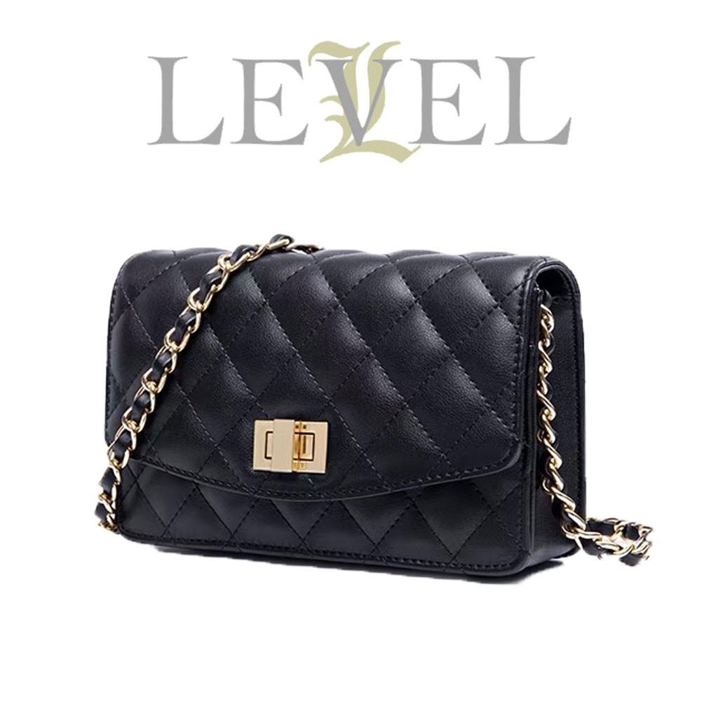 QUINN KOREAN - FASHIONSTOREKU Tas Level diamond Wollet on Chain dompet  fashion WANITA CLUTCH PESTA SELEMPANG 2f2b08e00c