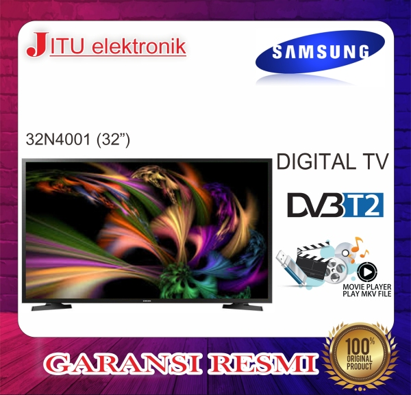 PROMO LED TV SAMSUNG 32 32N4001 32 INCH USB MOVIE HD HDMI