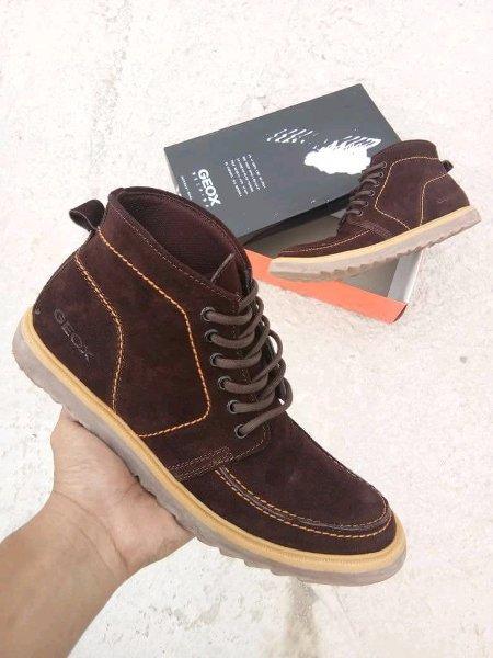 ISTANA SNEAKERS-Sepatu kulit pria GEOX terbaru PREMIUM QUALITY 0a4b1a8d91
