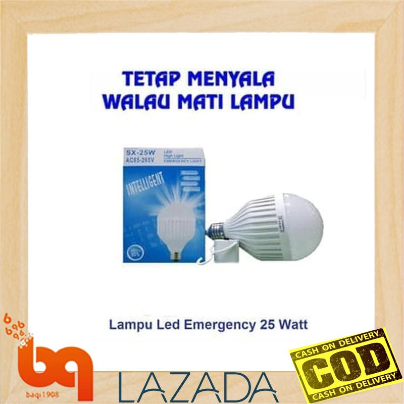 Bohlam Emergency Led Sx 25 Watt / Lampu Emergency Toko Baqi 1908 By Toko Baqi 1908