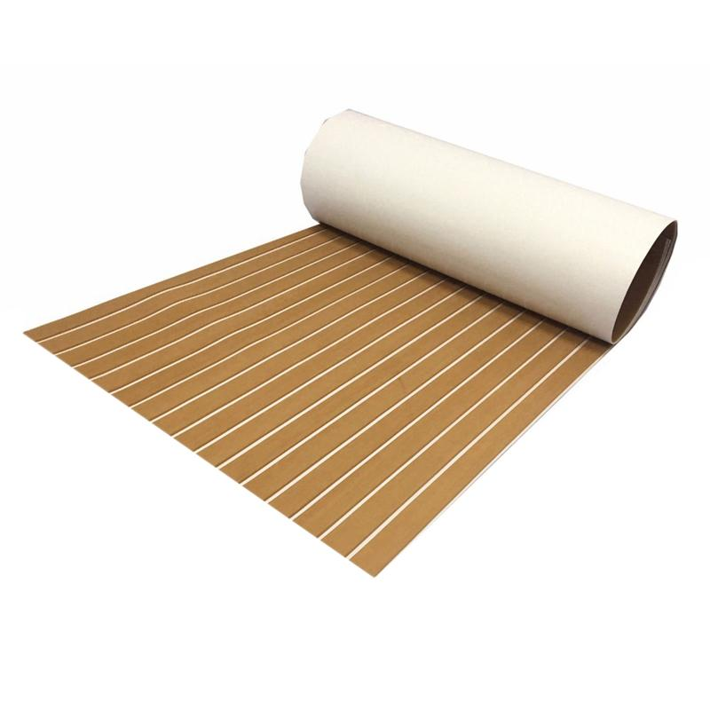 Eva Teak Decking Sheet For Boat Yacht Marine Flooring Carpet Non-Slip Boat Accessories
