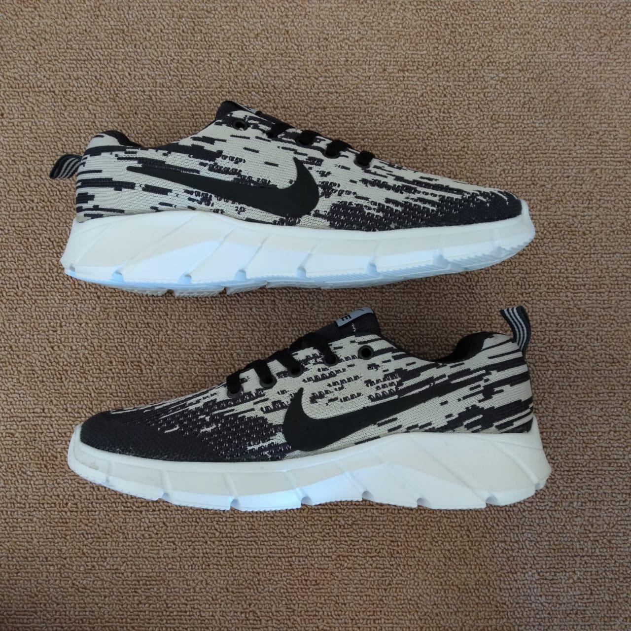 Sepatu nike999_flyknite new racer Hitam abu sepatu casual sepatu sneakers sepatu sekolah sepatu kerja sepatu olahraga fashion pria bisa bayar ditempat COD