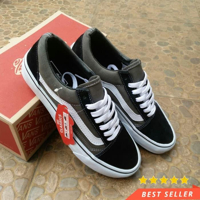 Original import Vans_1995 Old Skool low-top CLASSICS Unisex