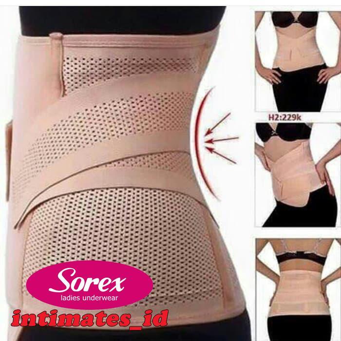 Sorex | Korset Pengecil Perut - Pelangsing Perut - Stagen Sorex Double Rekat