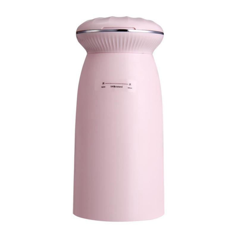 350ml USB Blue Light Air Humidifier with Shell Makeup Mirror Aroma Diffuser Singapore