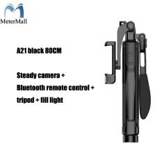 Gậy Tự Sướng Ổn Định Video A21, Gậy Tự Sướng Ba Chân Bluetooth Có Đèn Phụ Cho Điện Thoại Di Động iPhone, Xiaomi, Huawei, Gimbal