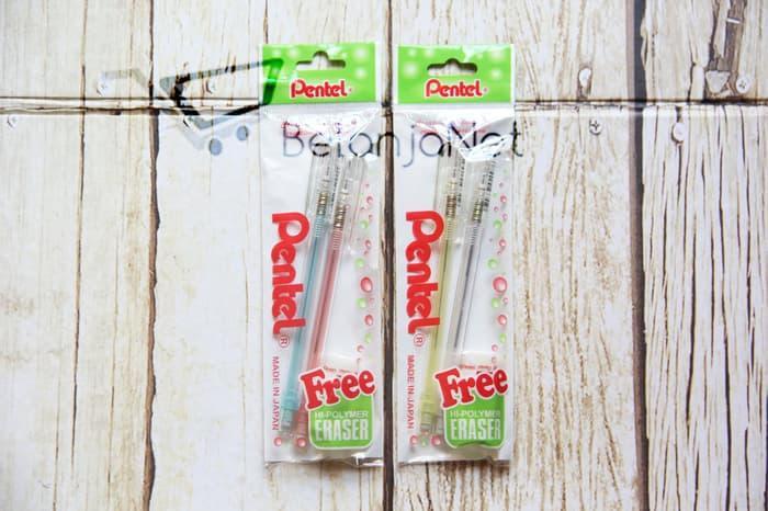 Pensil Mekanik Pentel Caplet 0.5 mm FREE PENGHAPUS
