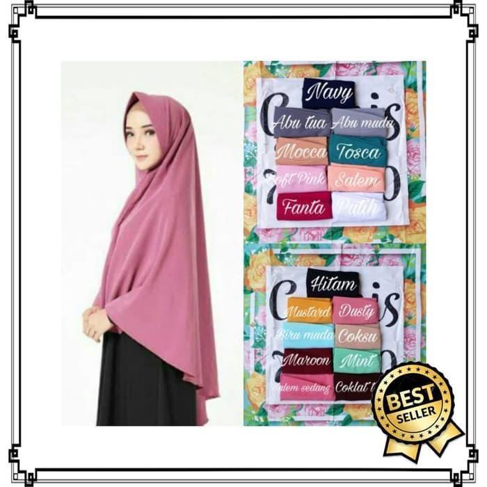 Hijab Jilbab Syar'I Khimar Rara Khimar Instant Syari Instan Jumbo