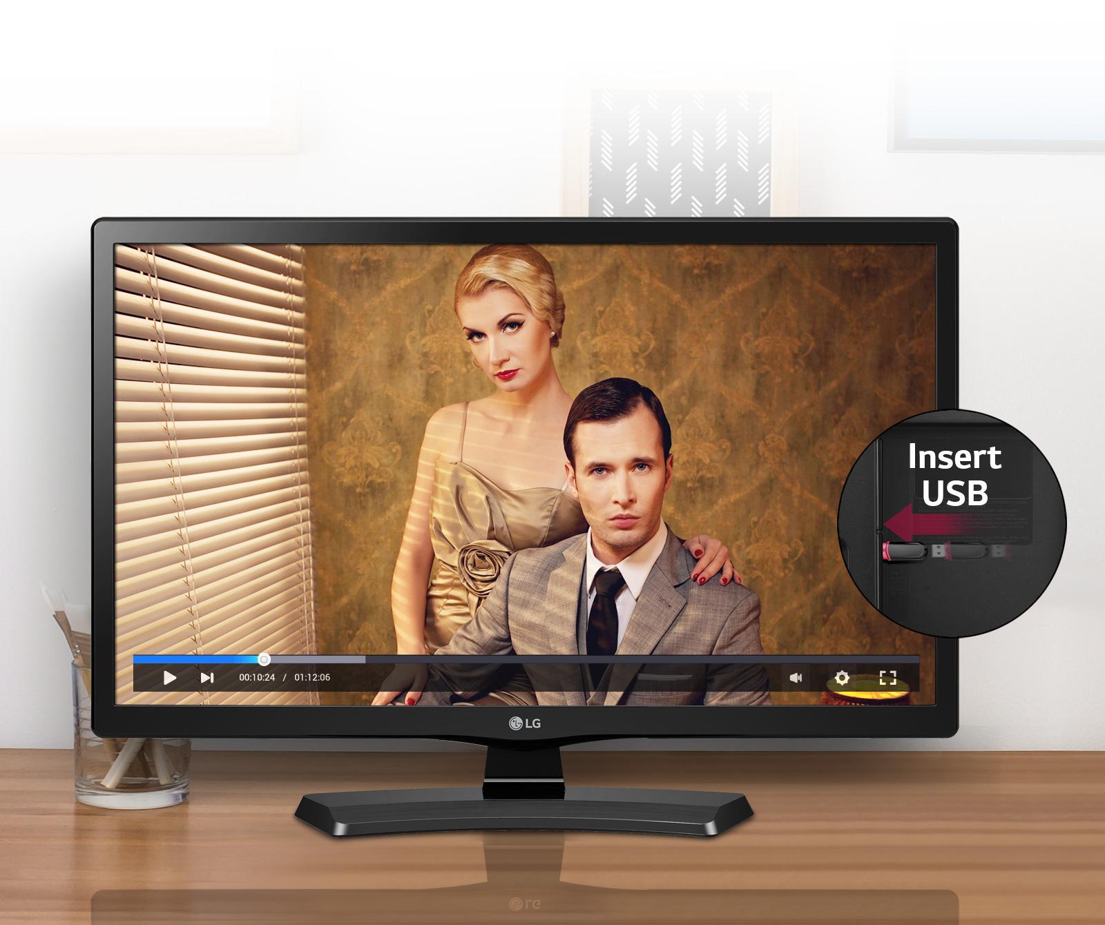 LG 20MT48AF LED TV [20 Inch] FREE PACK KAYU LUAR KOTA
