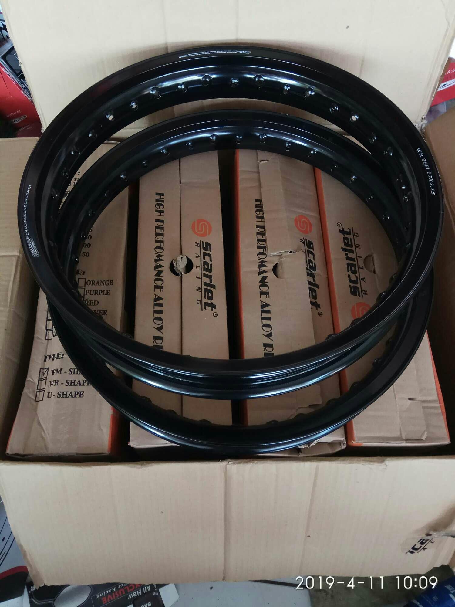 velg jari jari ring 17 lebar 185 /215x17 merek scarlet racing kualitas terbaik almuniaum alloy rim