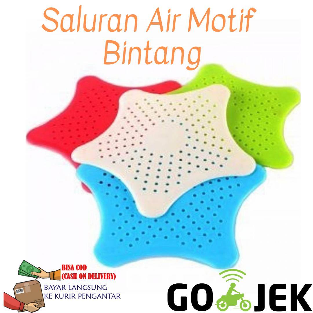 Filter Saluran Air Motif Bintang / Penyaring / Saringan By Antarestar.