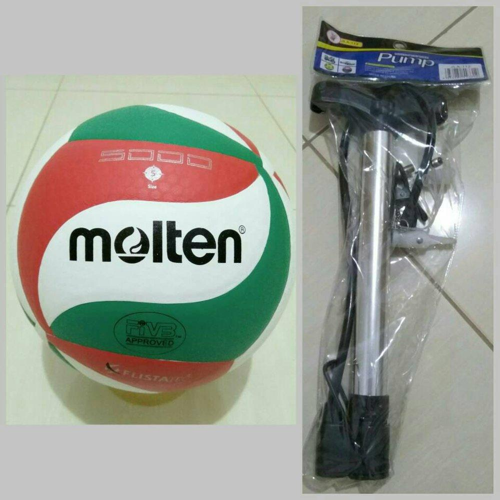... BOLA VOLI VOLLEY VOLLY VOLY MOLTEN 5000 NCAA LIMITED POMPA BESI