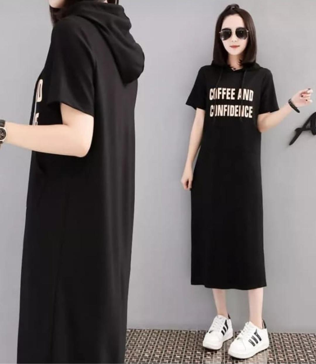 Milea Secret's - Dress Hoodie Kiara - Dress Wanita