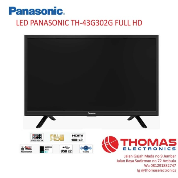 LED TV PANASONIC TH-43G302G FULL HD
