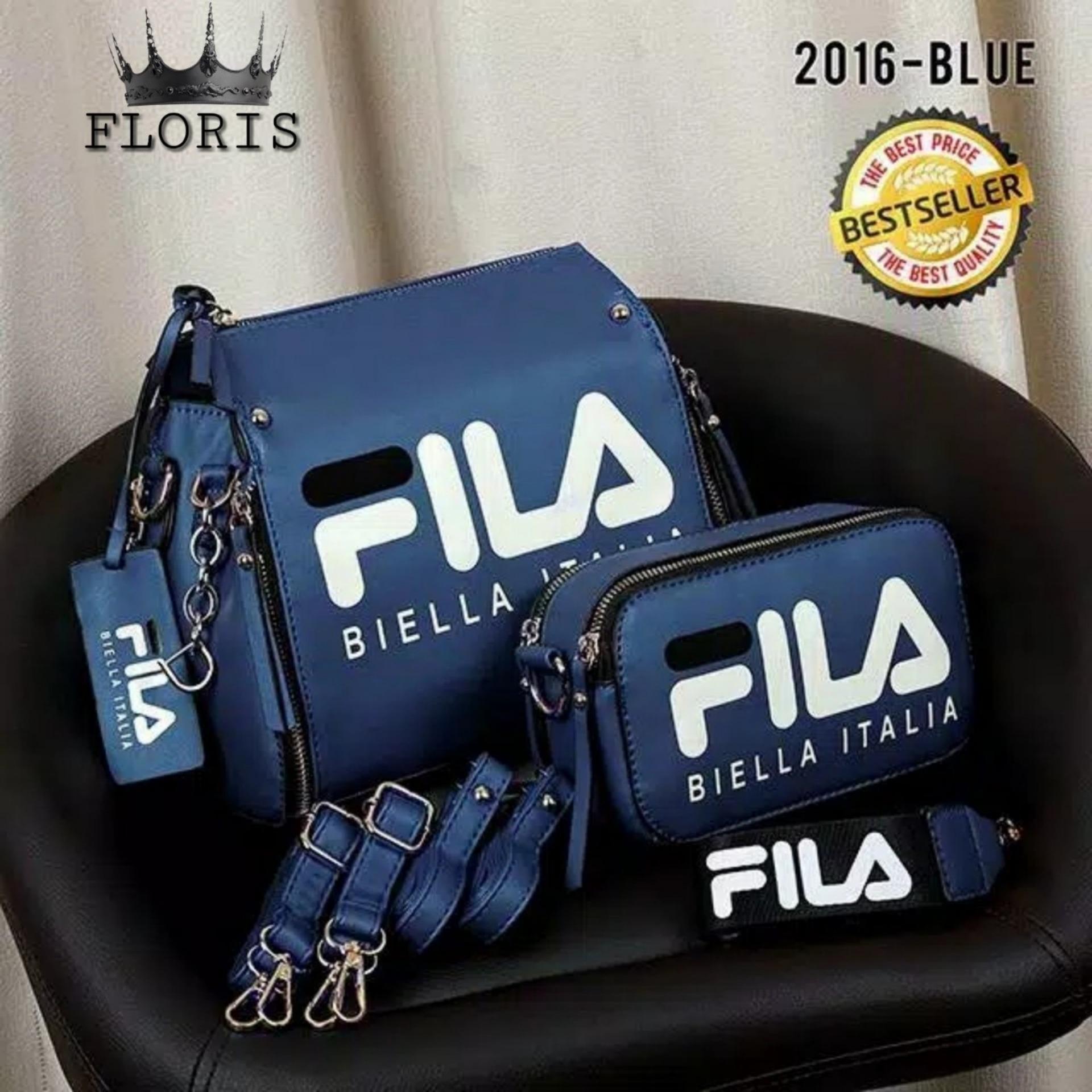 Tas Ransel SET 2 IN 1 Wanita Korea style Elegan FLA SEXY ROAD/Backpack Fashion