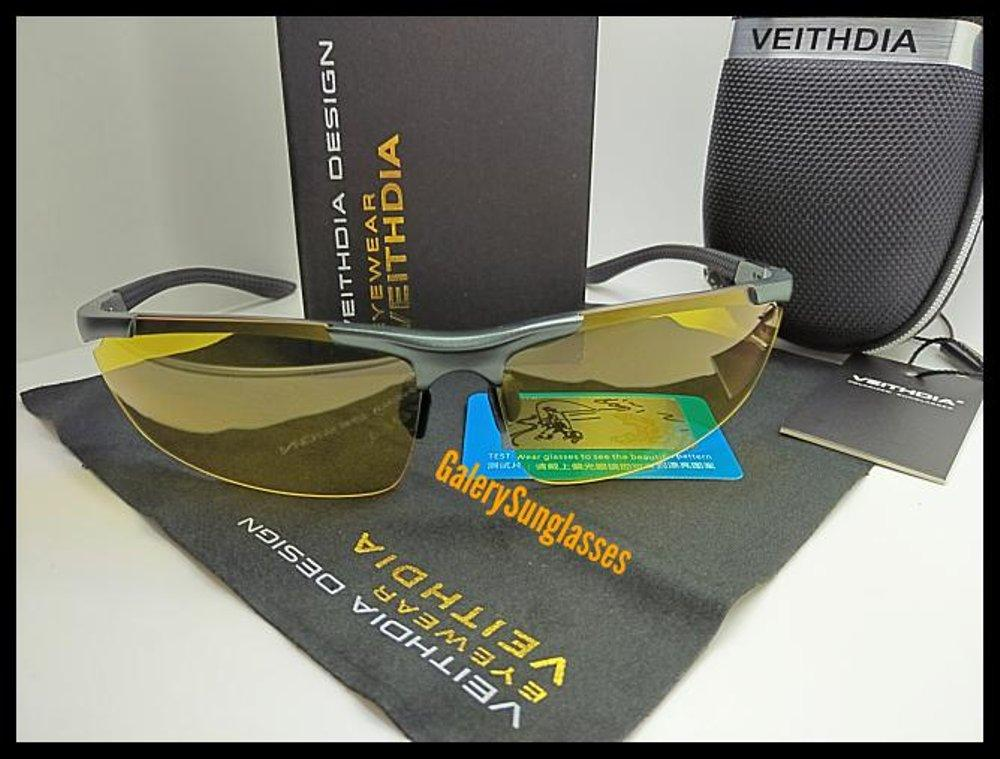 Kacamata Polarized Night Vision Sunglasses Sr-007ylw By Made Fashion.