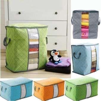 TRAVELBUDDY Storage Box Organizer Bag / Tempat Penyimpanan Baju Pakaian Selimut Bed Cover Serbaguna