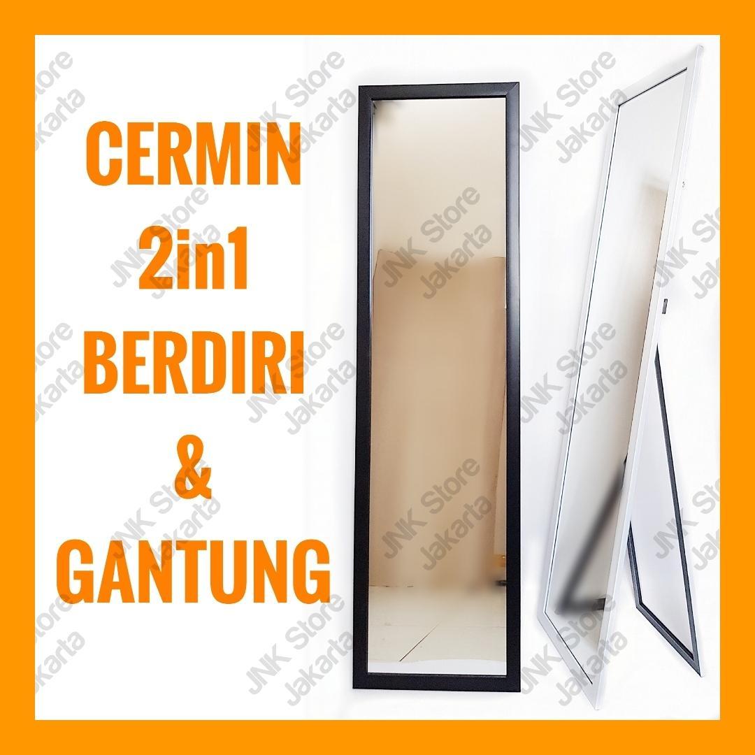 Cermin berdiri Standing Mirror Cermin full body badan panjang ca1a5fae4f