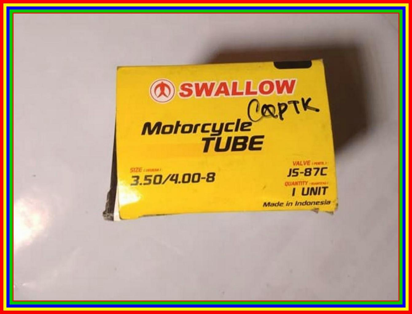 Ban Dalam Swallow Depan Vespa 3.50/4.00 - 8 By Pusat Remote.
