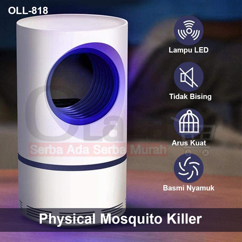 Lampu Perangkap Nyamuk USB LED Mini Electric Mosquito Catcher trap UV OLL-818