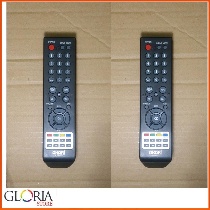 Remot TV AKARI Remote TV LED/LCD AKARI