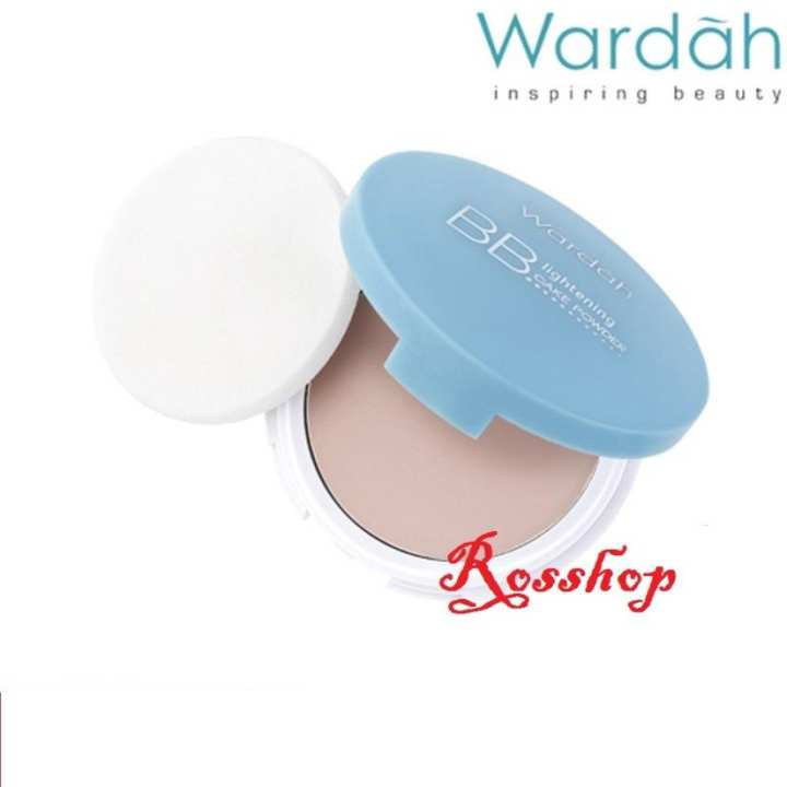 Wardah Lightening BB Cake Powder - 03 Natural | Lazada