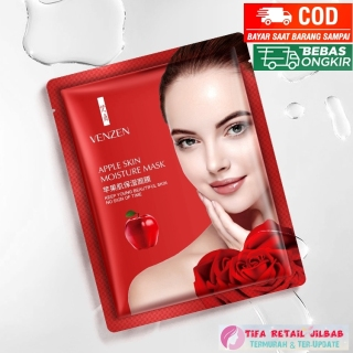 Venzen Apple Skin Moisture Facial Face Mask Anti Wrinkle And Aging thumbnail