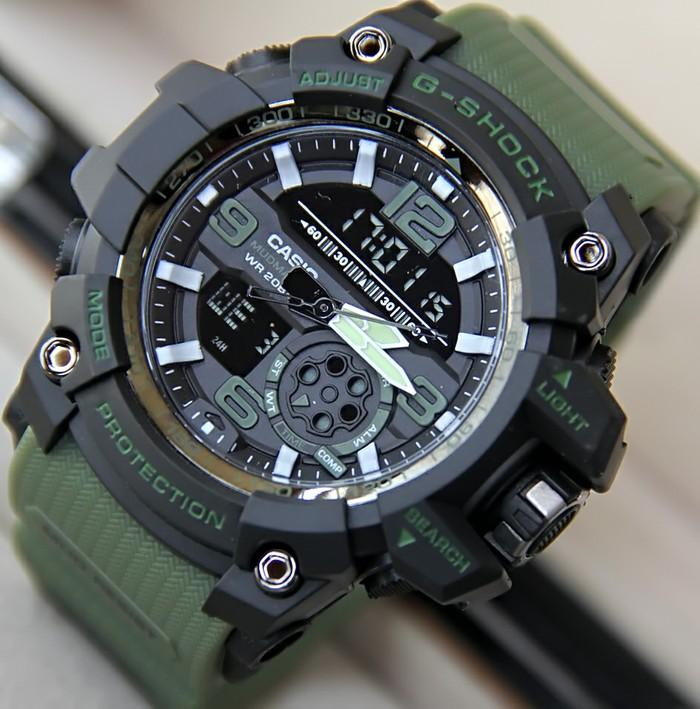 Jam tangan sport PRIA g shock_GS_674599936 NEW dualtime limited edition