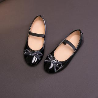 2020 Mới Mùa Xuân Và Mùa Thu Của Trẻ Em Giày Nữ Công Chúa Giày Mềm Hàn Quốc Trẻ Em Sinh Viên Bình Thường Giày Đen thumbnail