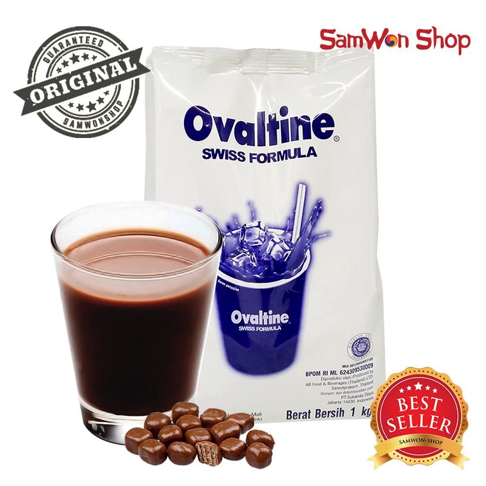 Ovaltine Swiss Coklat Malt 1 Kg Import Reg Bpom Ri By Samwon_shop.