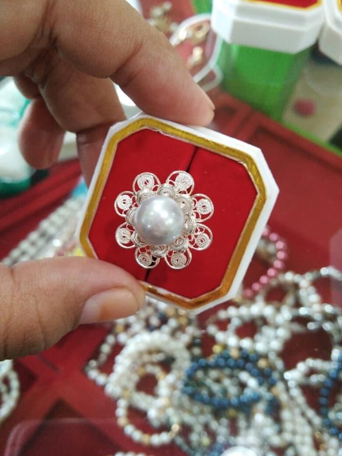 Cincin Perak Mutiara Tawar Original Lombok By Lombok_pearls.