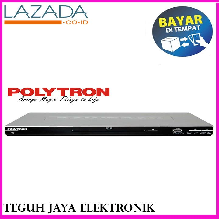 Polytron 2167 DVD Player Port USB + CD Ripping - SILVER