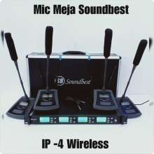 Mic Wireless Podium Soundbest Ip 4 Conference Mic Meja