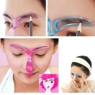Eyebrow Template Isi 1 Model Alat Cetakan Alis Gagang Model 1 - 1 Pcs thumbnail