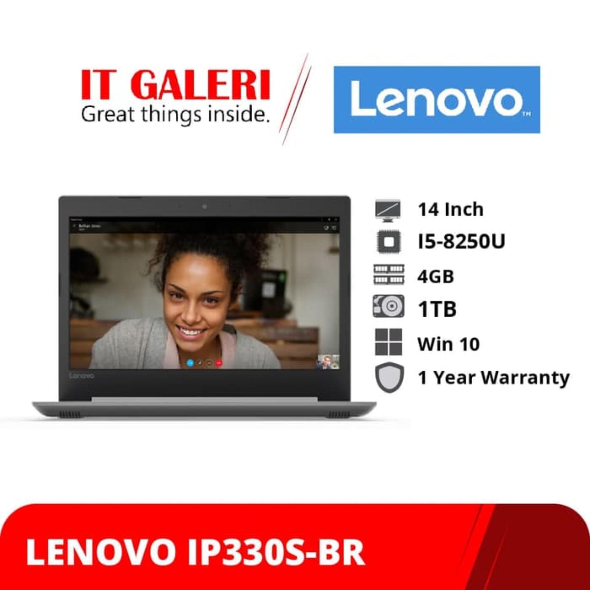 Lenovo Ideapad 330s-14IKB-BRID - Ci5-8250U - 4GB - 1TB - AMD Radeon 535 - 14