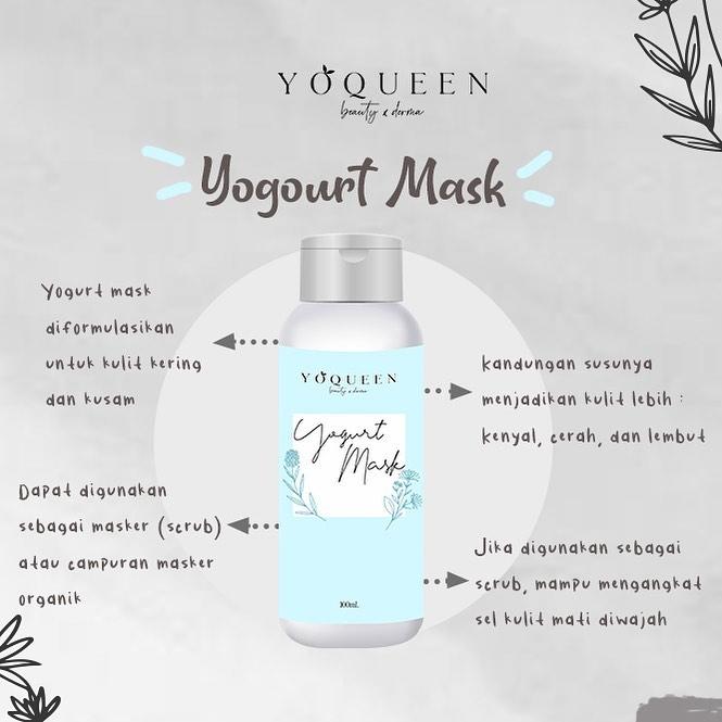 Masker Yogurt by Yoqueen Beauty