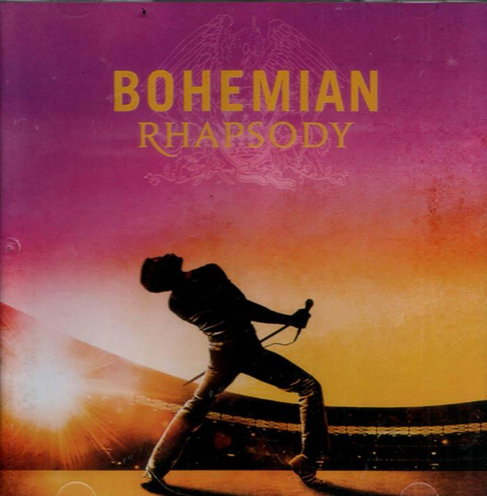 Cd Soundtrack - Bohemian Rhapsody (queen) By Womdisc.