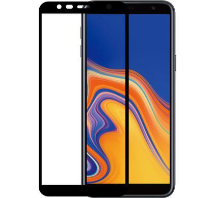 HMC Samsung Galaxy J6 Plus - Tempered Glass Full Screen - Screen Guard - Full Glue