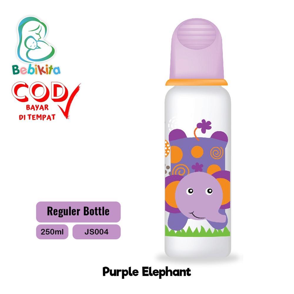 Baby Safe Js004 Feeding Bottle 250 Ml / Regular Bottle / Botol Susu Bayi By Bebikita.