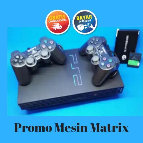 PS2 Hardisk - PlayStation 2 Fat 18000 Matrix - PS2 - Free MMC + 2 Stik  (Glodok Harco)
