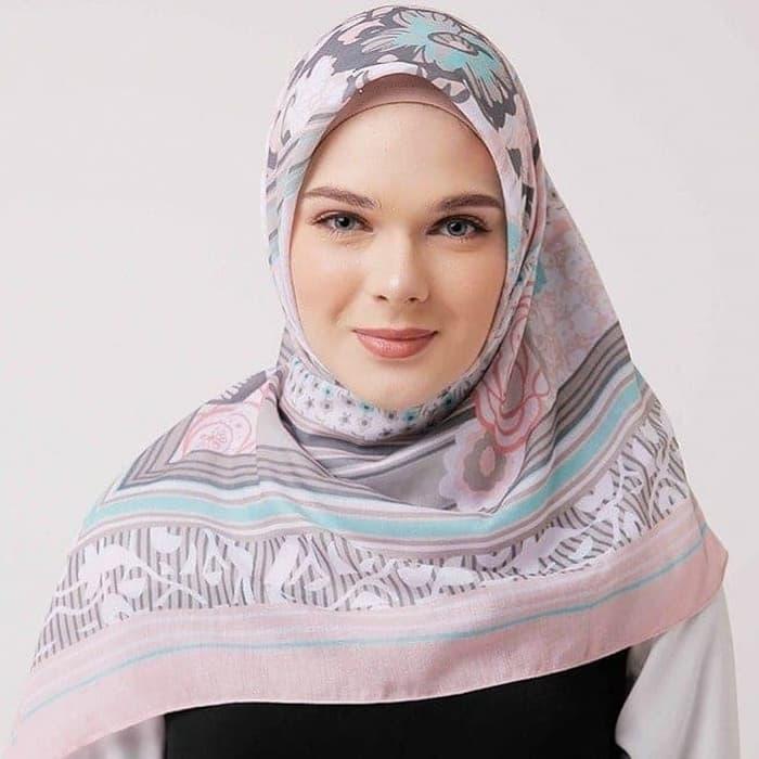 Motif Kerudung Segi Empat Zoya Terbaru Hijabfest