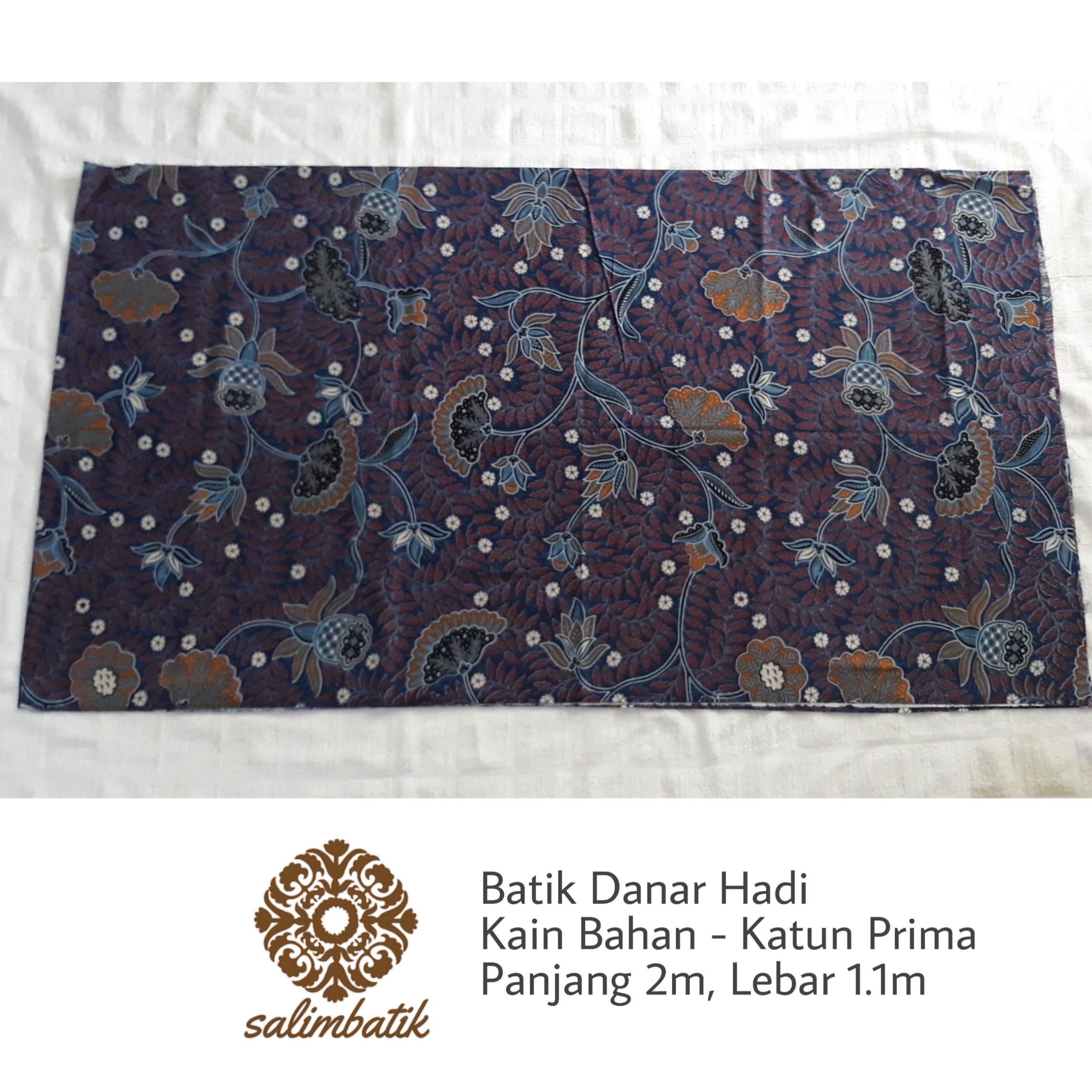 Kain Bahan Batik Danar Hadi Original Motif 1301