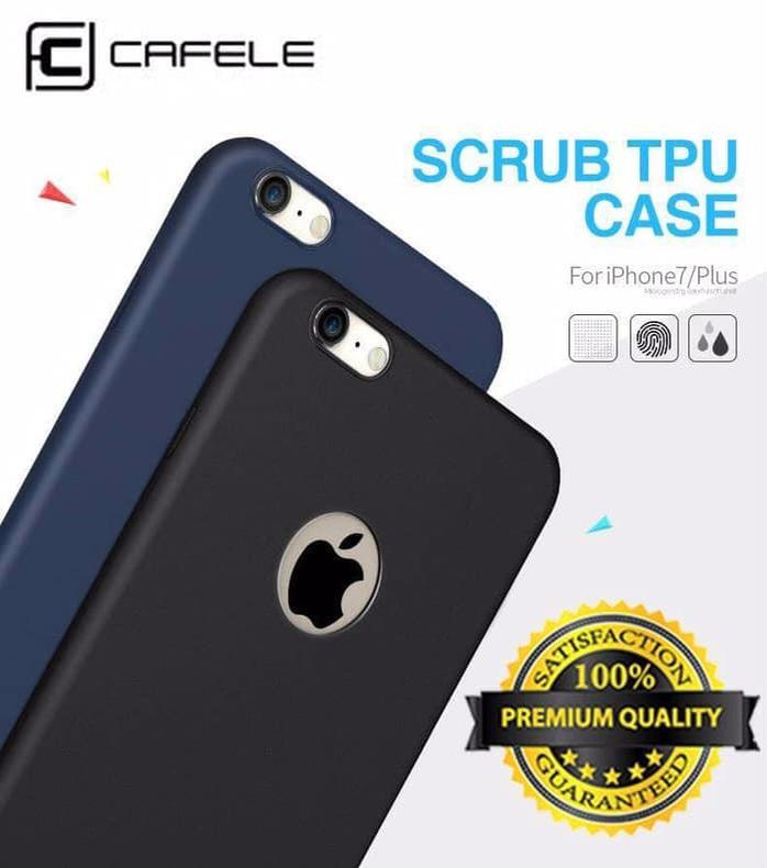 Cafele Iphone X 6 6s 7 8 / Plus [Original] Tpu Matte Case Ultrathin Silikon Casing