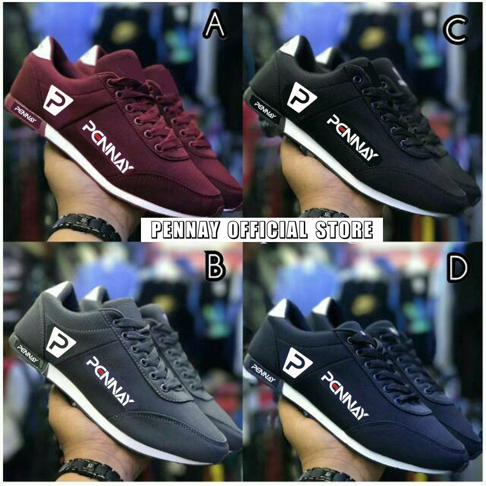 PennayOS Sepatu Kets Sneakers Kasual Pria PX-45 Sepatu Kuliah dan Kerja -  Multi 5b55332598