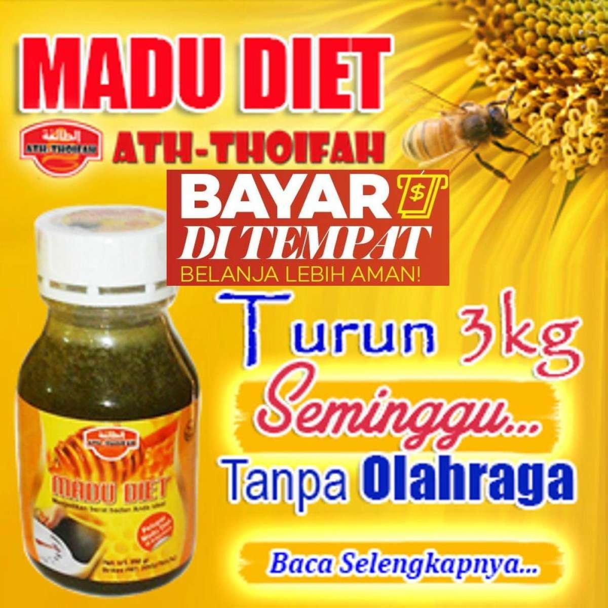 Madu Diet Ampuh - Madu Langsing - Madu Pelangsing Badan 350gr - Madu  Pelangsing Alami bece45f11a