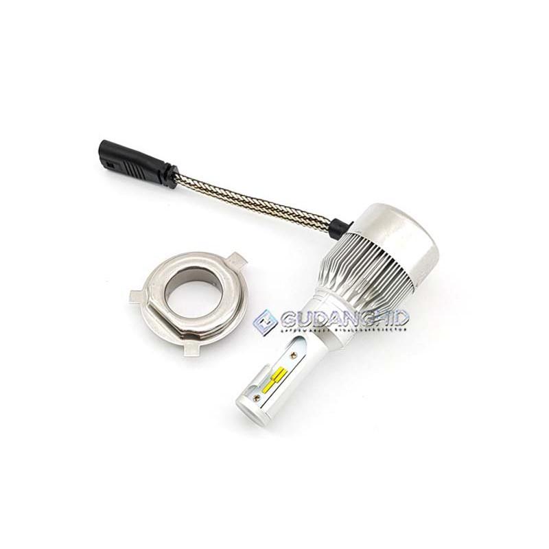 Promo Lampu LED H4 Mobil Lumileds ETI NAO C6H H4 Hi-Lo 8V-36V 45W